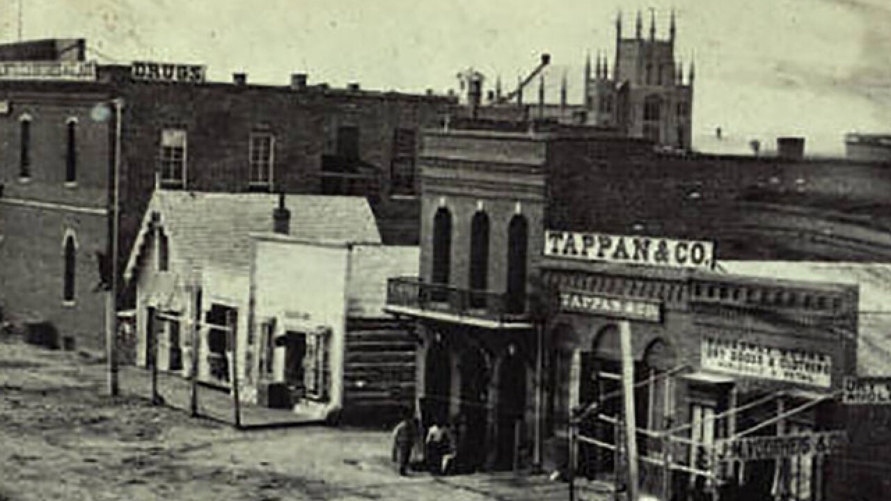 How a fire that decimated downtown Denver in the 1800s led