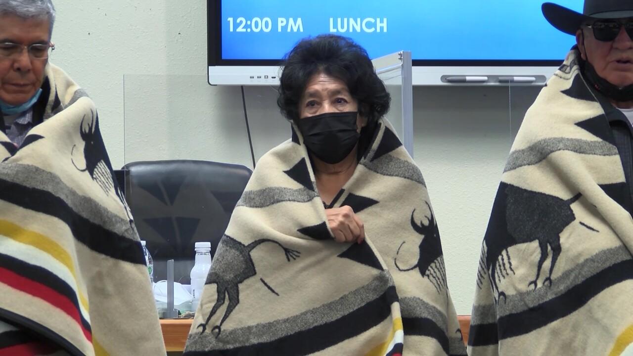 Blackfeet honor native speaker and educator Diana Burd