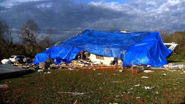 Photos: Aftermath of Rutherford County tornado
