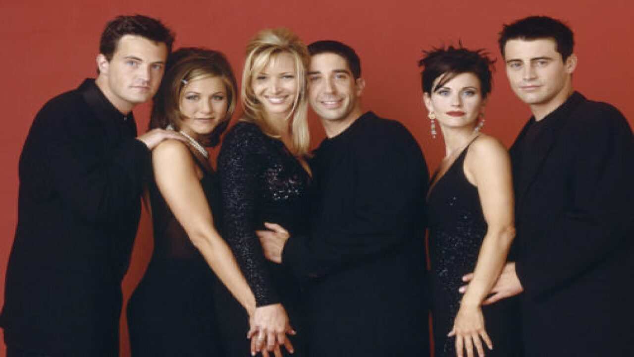 'Friends' Episodes Are Coming To Theaters In Honor Of The Show's 25th Anniversary