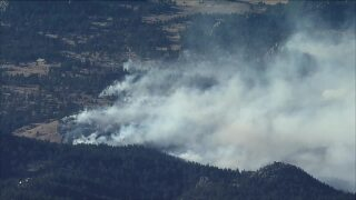 Elk Fire Larimer County wildfire