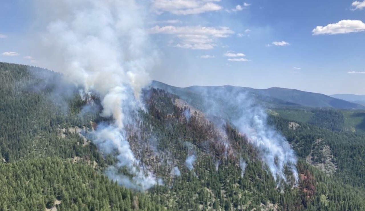 Deep Lookout Mtn Fire