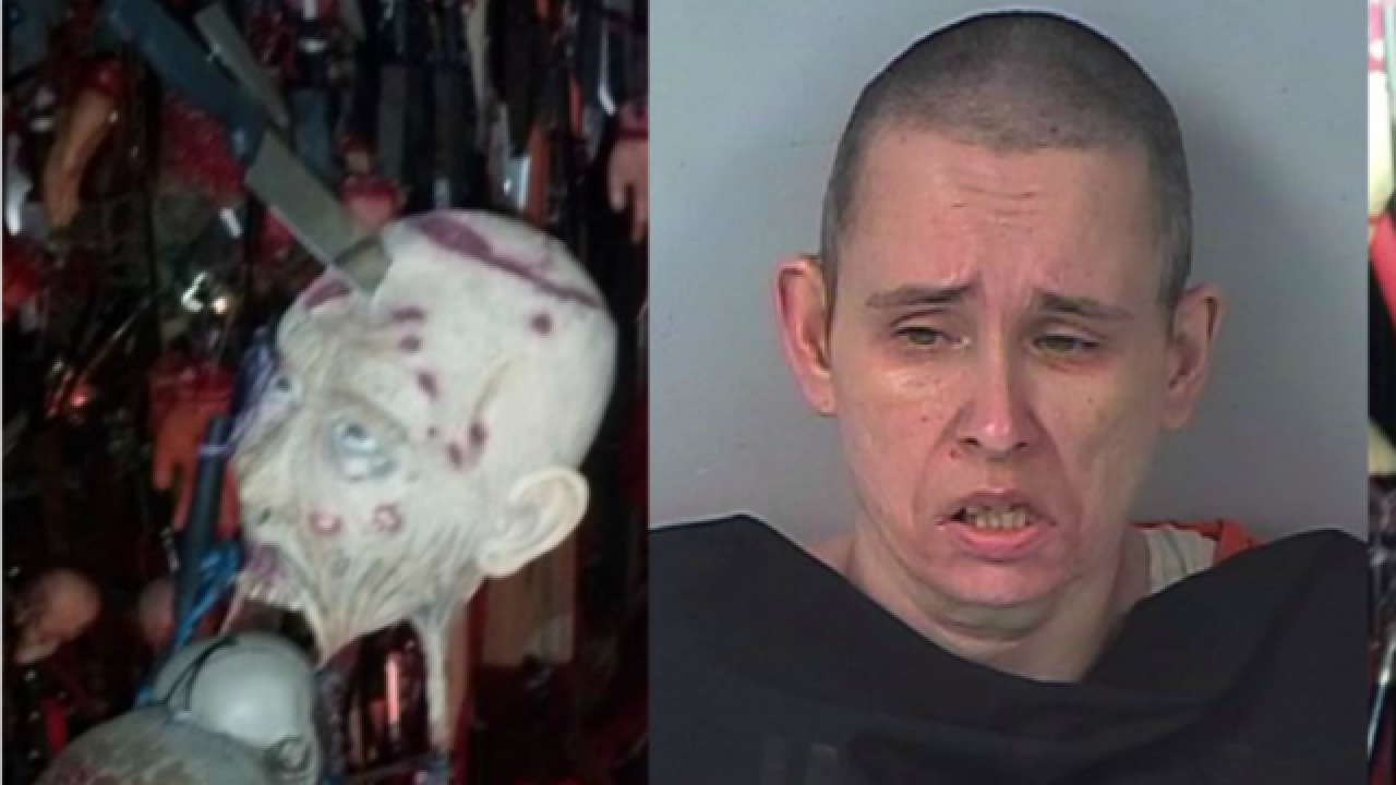 WATCH: House of horrors found after FL standoff
