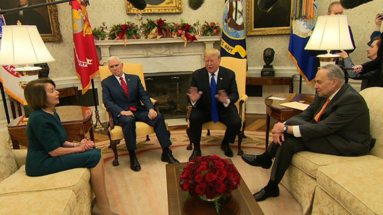 President Trump says he will be 'proud' to shut down government over border security