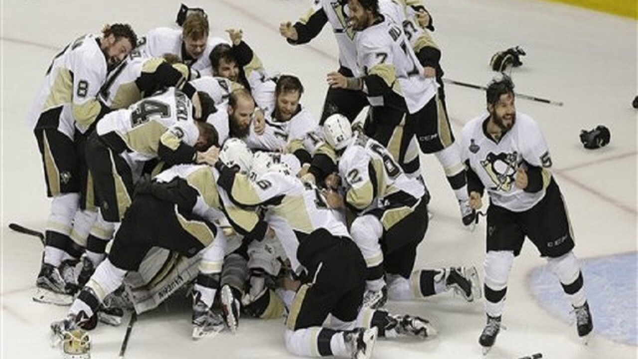 Penguins beat Sharks 3-1 for 4th Stanley Cup title