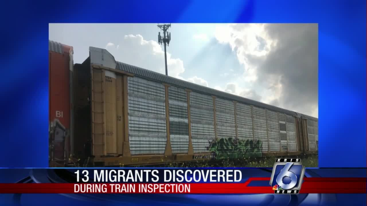 13 migrants discovered in Robstown