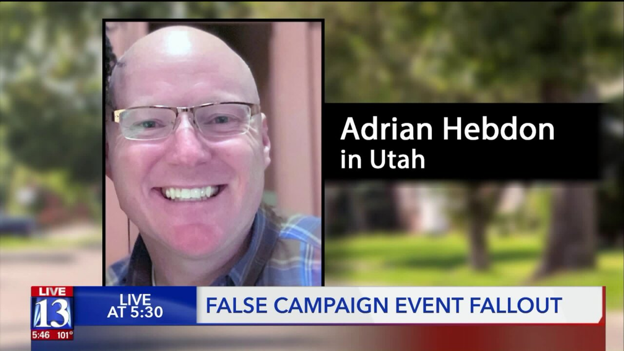 Convicted con artist's trail of lies passes through Utah on lateststop