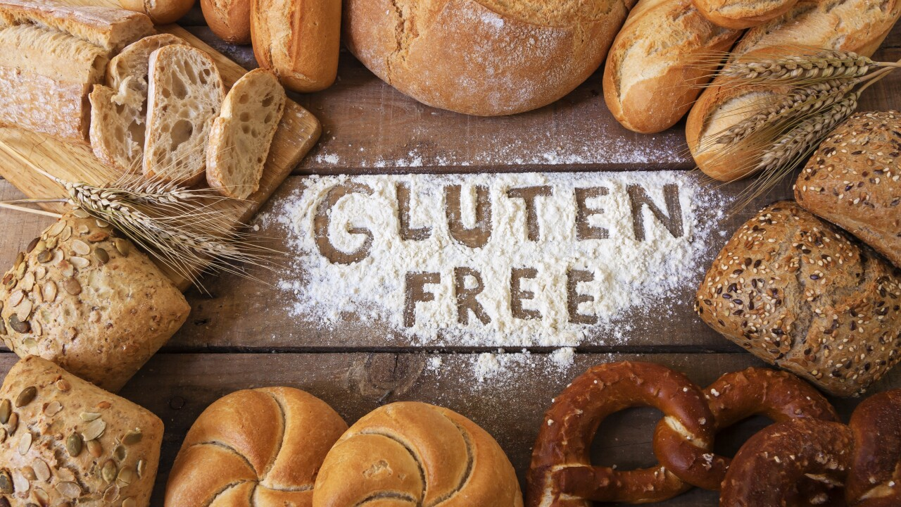 Eating more gluten early in life is tied to children's higher risk of celiac disease, a study says