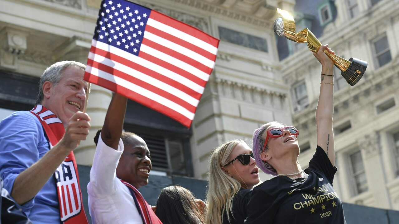 Photos: US Women's soccer team celebrates fourth World Cup win