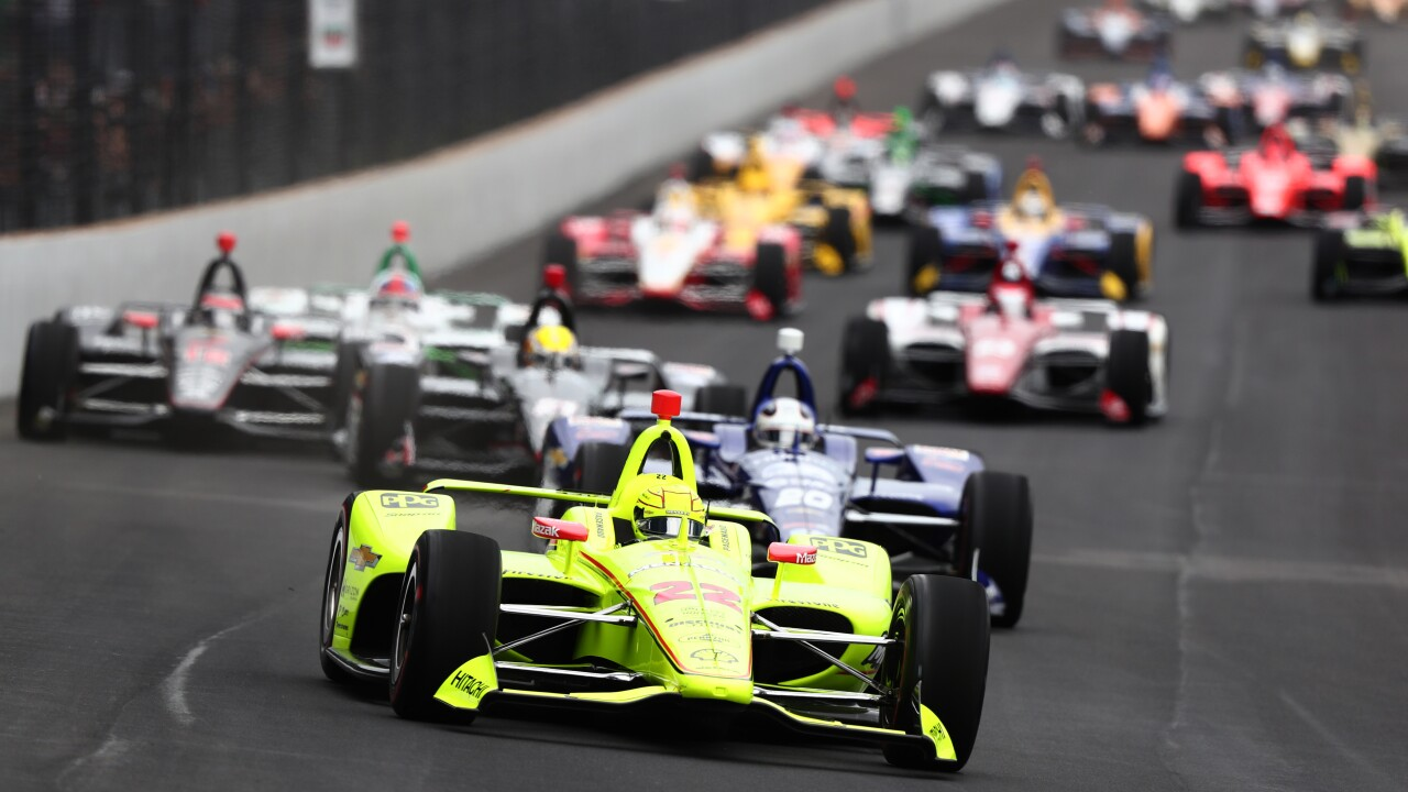 Alexander Rossi Finishes Second In Indianapolis 500 After