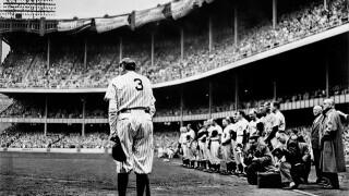 1949, Babe Ruth's Final Farewell