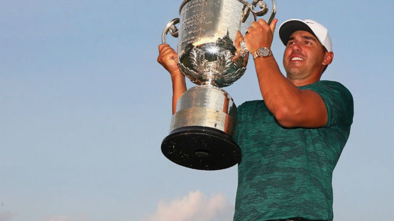 Brooks Koepka holds off Tiger Woods to win PGA Championship