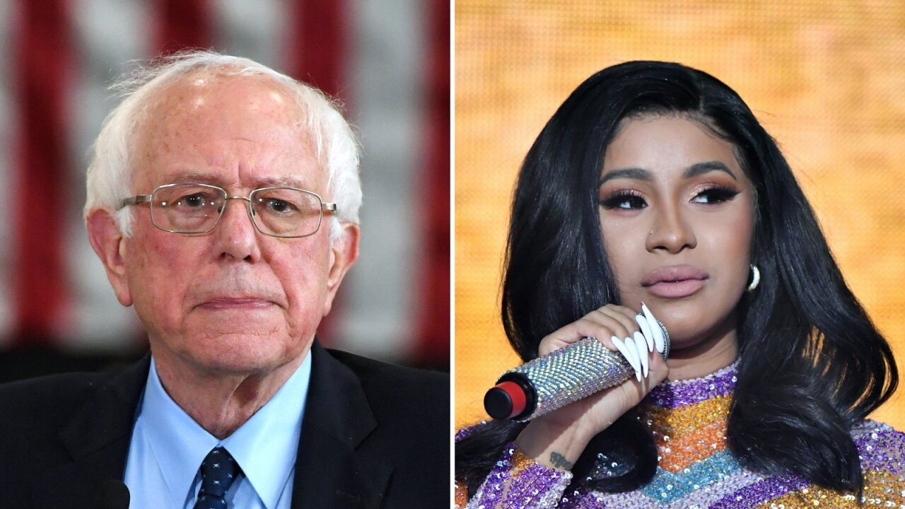 Cardi B and Bernie Sanders talk jobs, wages and the economy