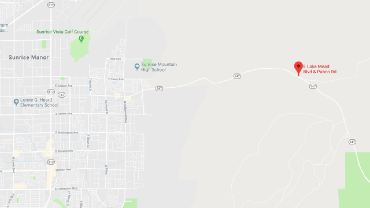 Man shot 4 times in early morning carjacking near Lake Mead, Pabco Road