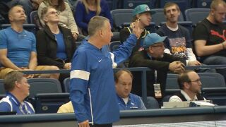 Dave Pilipovich wins 100th career game as Air Force tops Army, 69-57