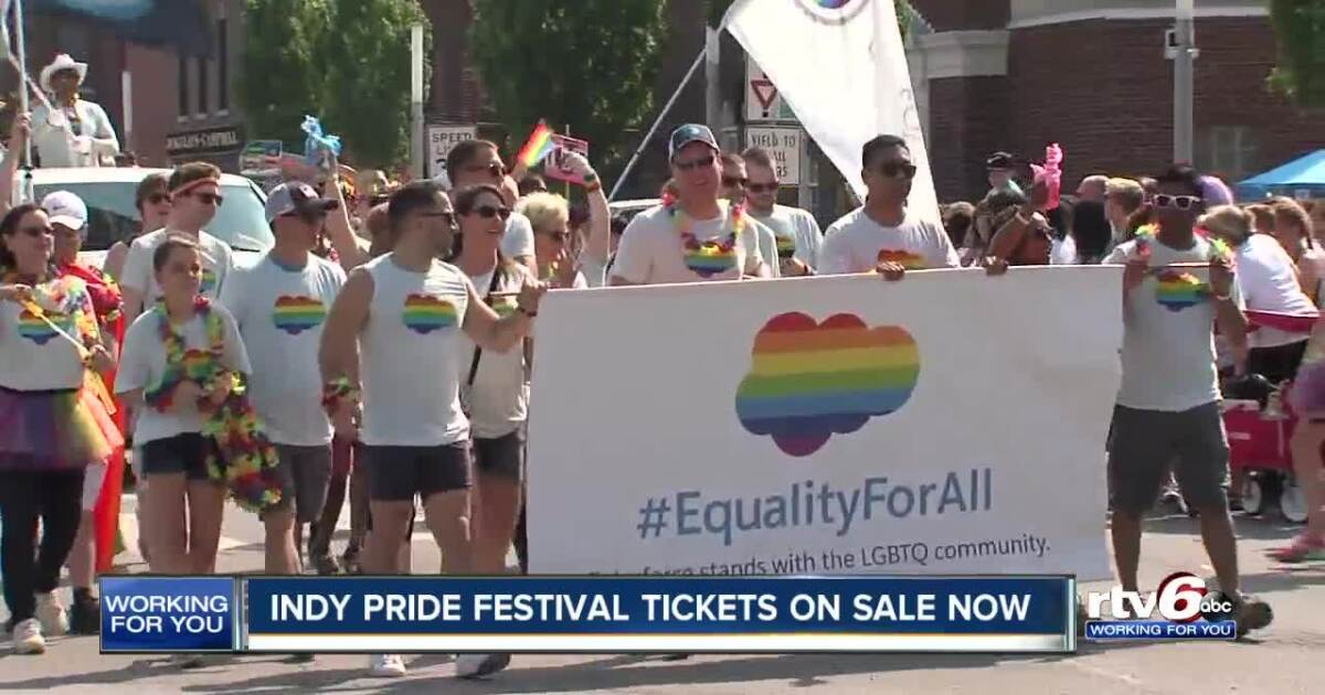 2019 Indy Pride Festival tickets on sale now