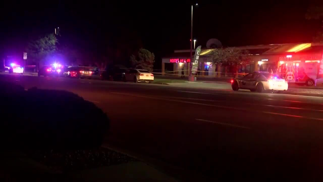 Homicide outside Woody's Bar & Grill