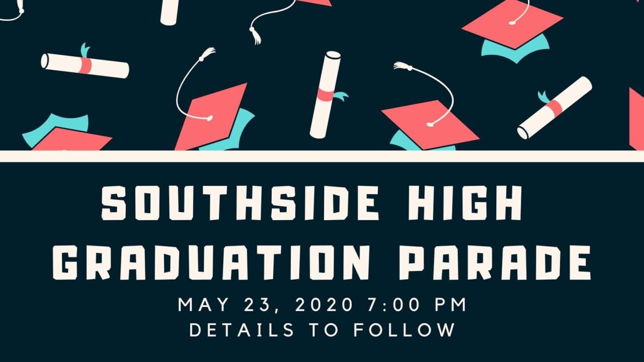 Southside graduation parade.jpg