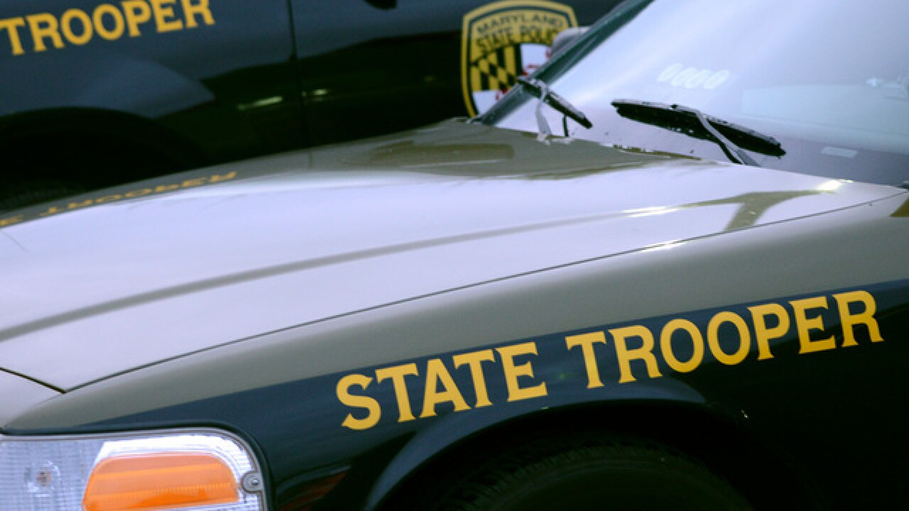 Maryland State Police troopers shot during barricade