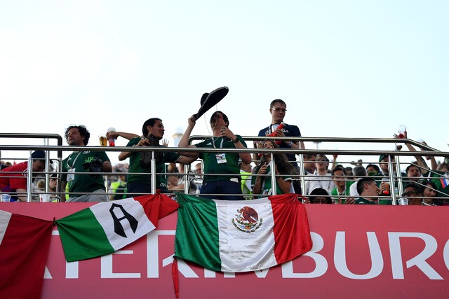Mexico takes on Sweden in World Cup