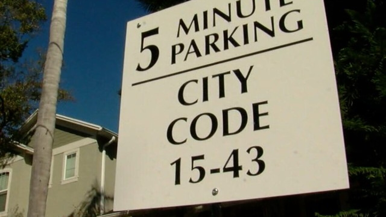 "Tampa testing replacement for ""5 Minute Parking"""