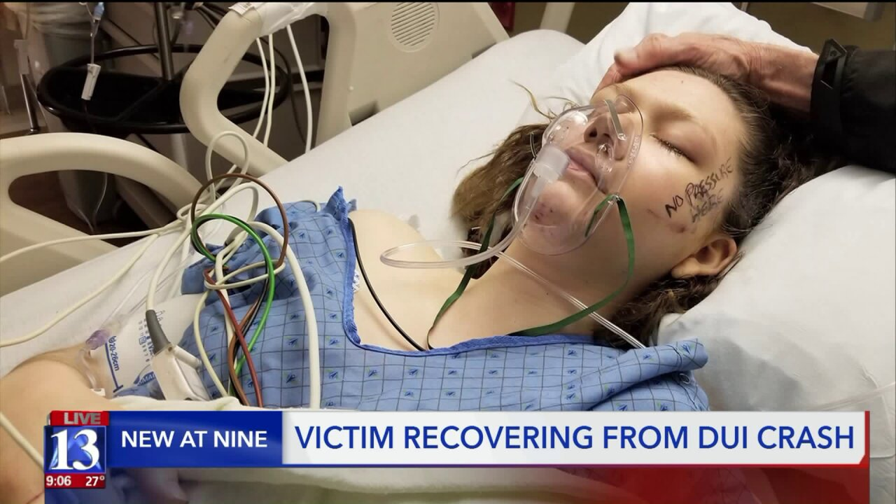 Family of woman hit by wrong way driver warns of consequences ofDUI
