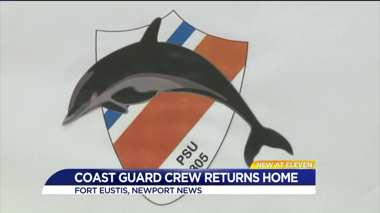 Coast Guard unit returning after nine-month deployment to Guantanamo Bay