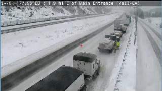 I-70 near Vail_Jan 13 2019