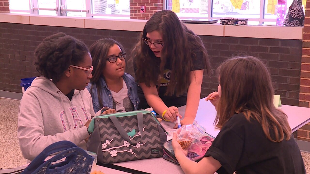 Chesterfield students made sure no one ate alonetoday