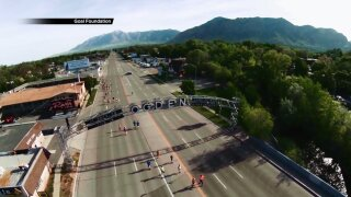 Photos: Olympian Jeff Galloway running 198th marathon inOgden