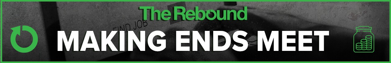 2020 The Rebound Making Ends Meet website banner