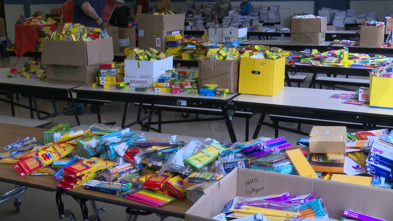 Helena-area schools ready to distribute supplies from Stuff the Bus donation drive