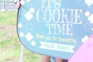 Girl Scouts in Montana get creative selling cookies amid COVID-19