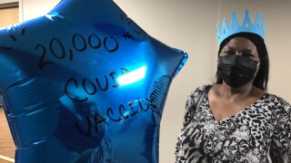 20,000th vaccination dose administered at Kent County Health Department clinic