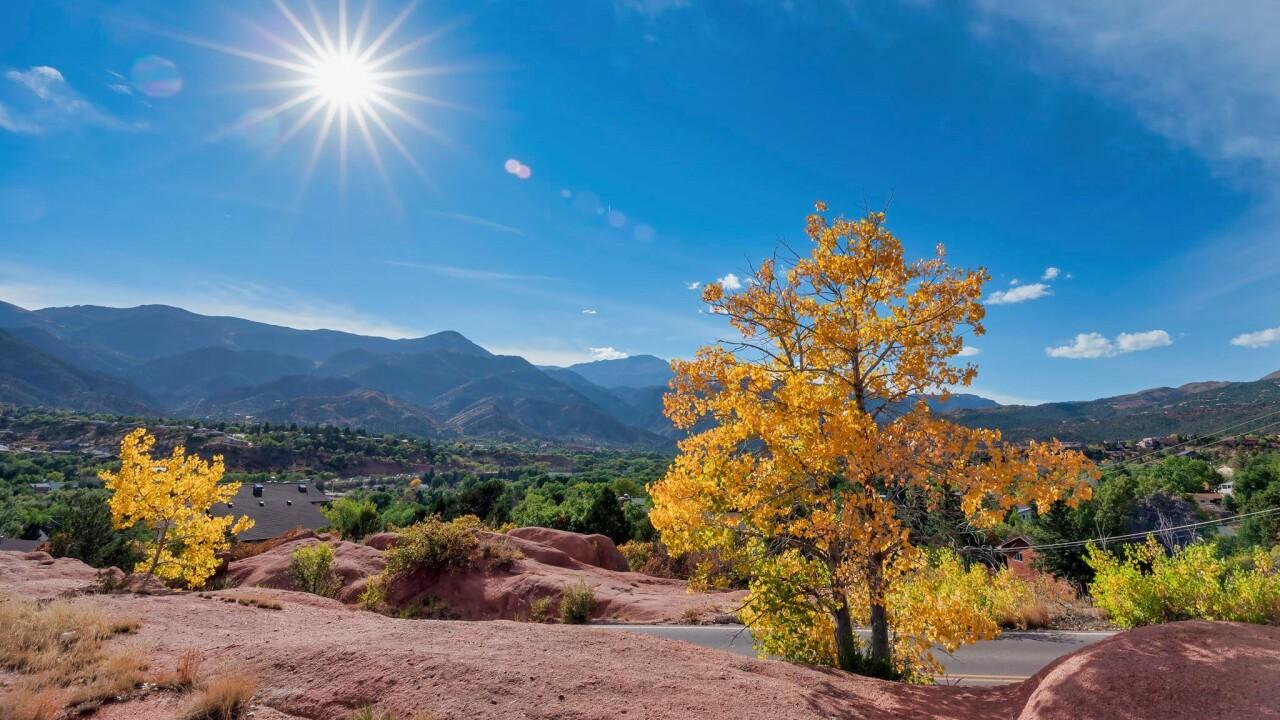 Larry Marr Colorado Springs fall foliage