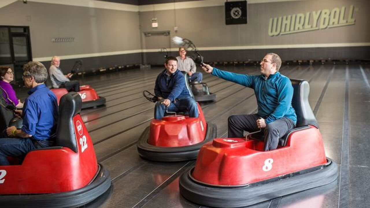 WhirlyBall and BistroPlex coming to Brookfield