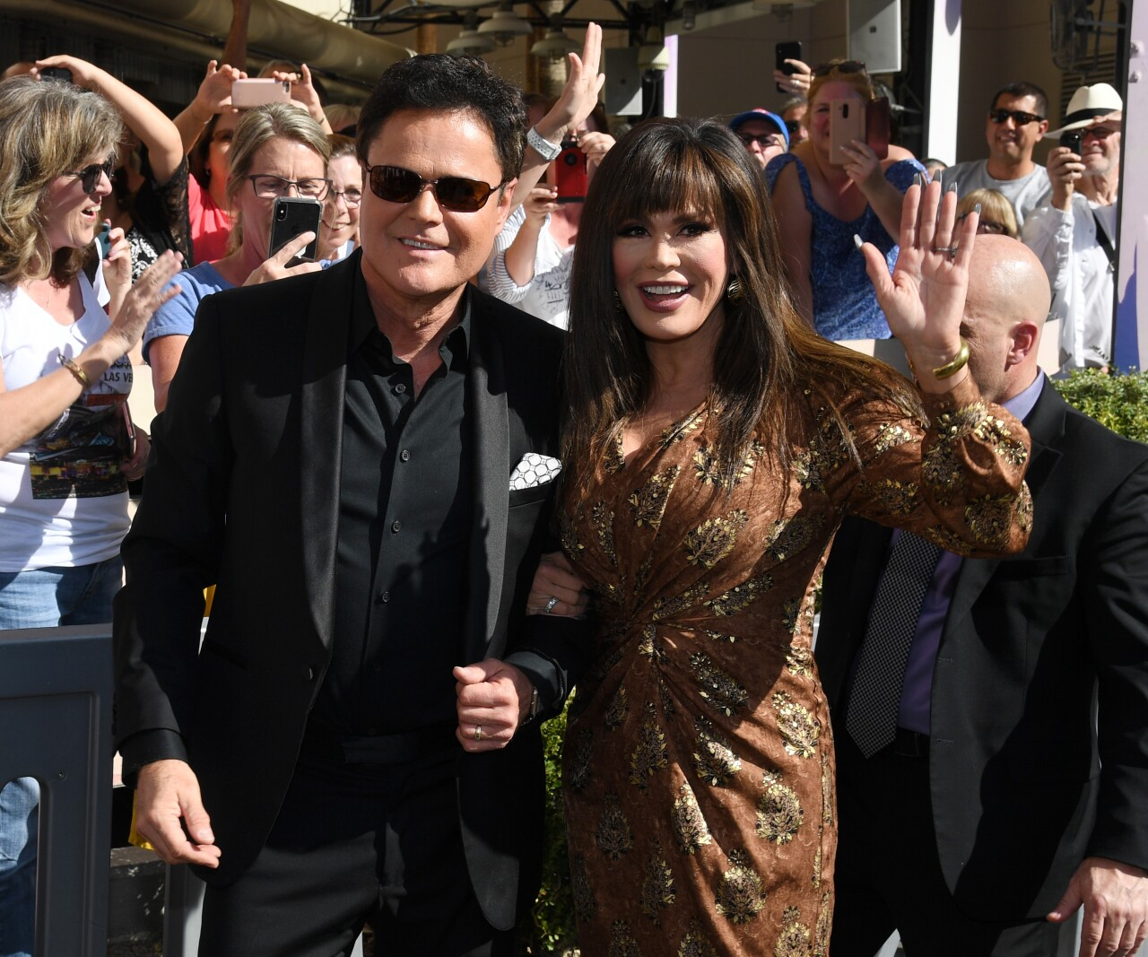 Donny And Marie Osmond Honored By The Las Vegas Walk Of Stars