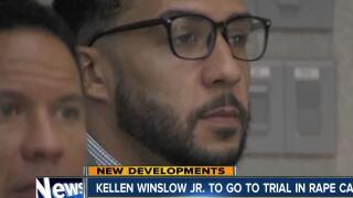 Winslow Jr. headed to trial in rape case