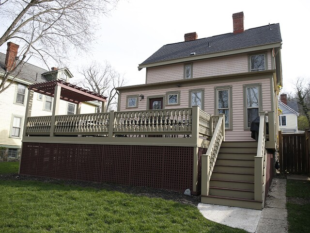 Home Tour: And he said he didn't want to live in a pink house