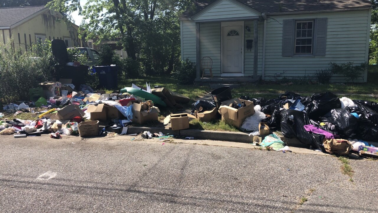 News 3 helps take action against trash buildup in Portsmouth neighborhood