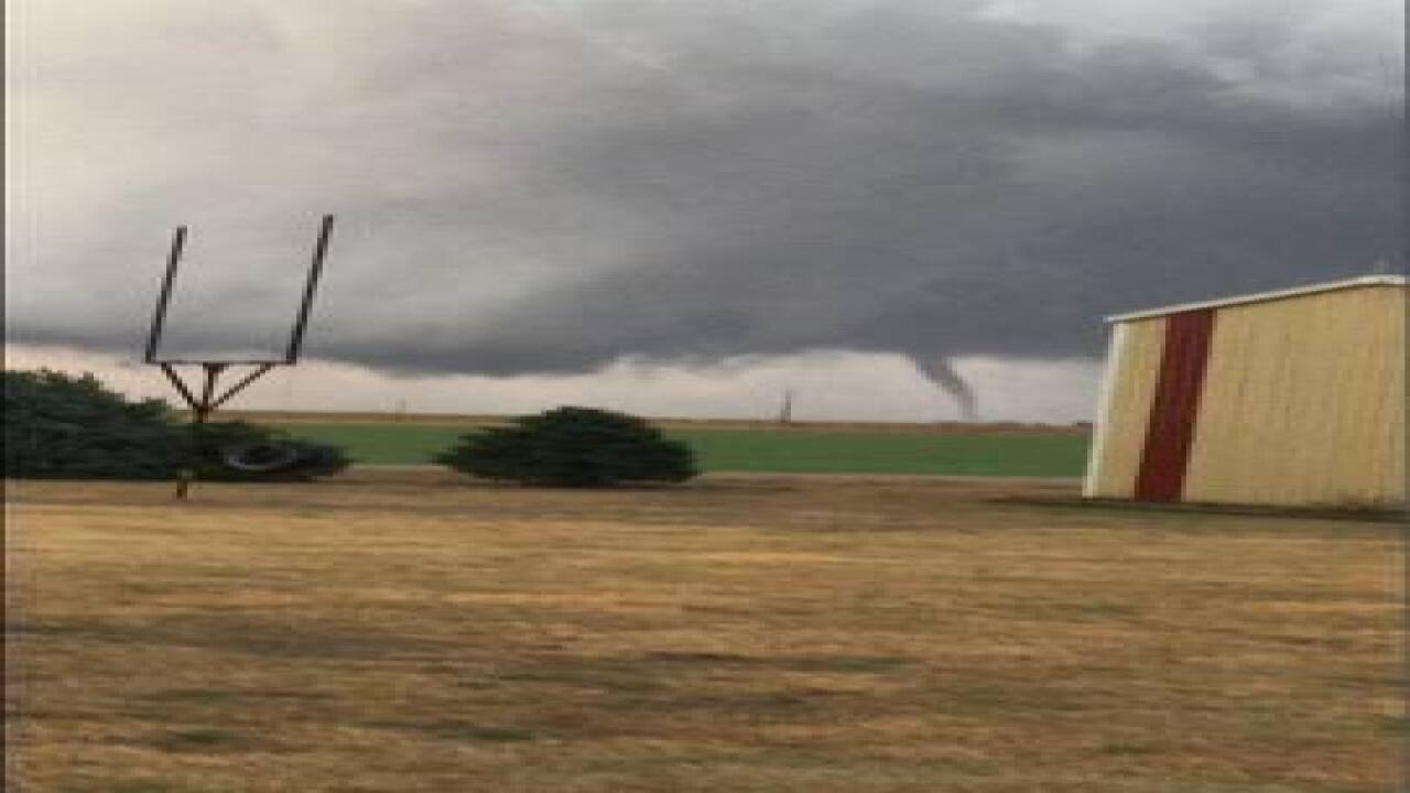 Tornado in Nebraska causes damage