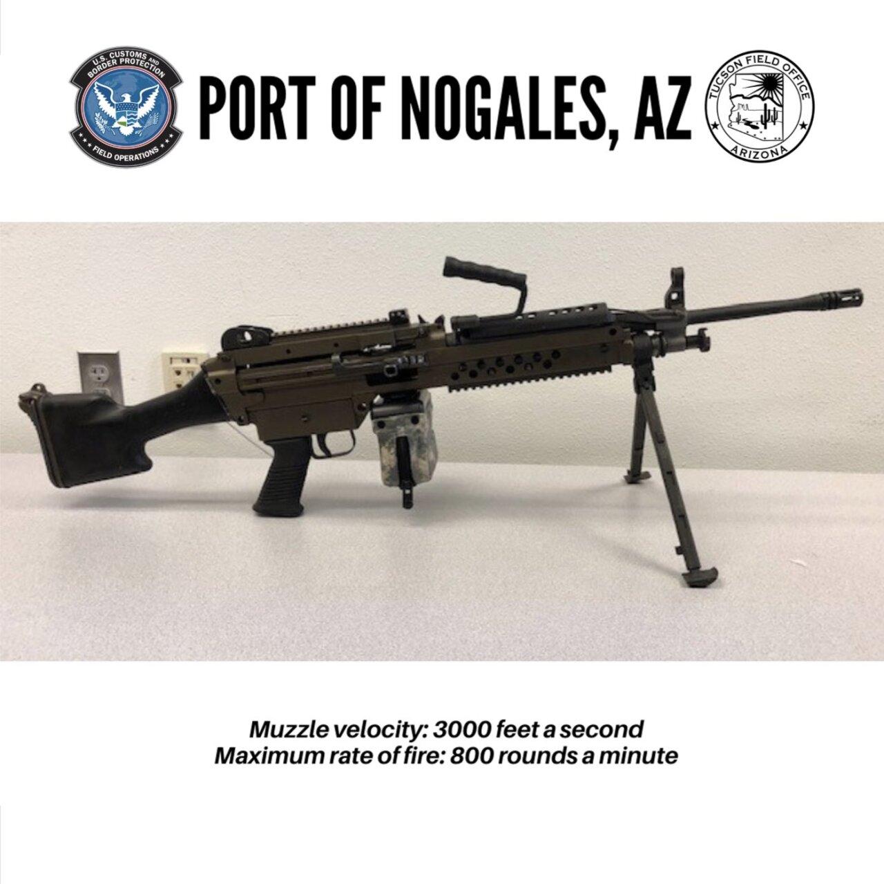 U.S. Customs and Border Protection gun seizure