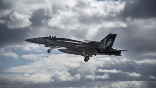 Navy fighter jet crashes in Central California, search underway for pilot