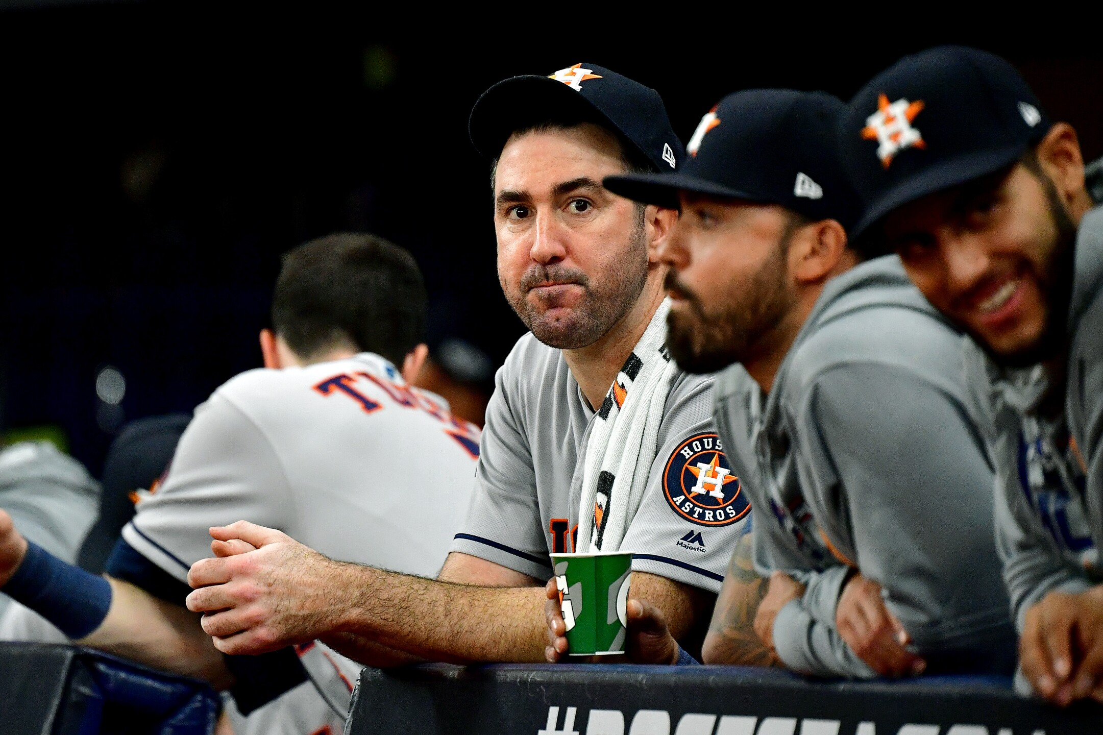 Divisional Series - Houston Astros v Tampa Bay Rays - Game Four
