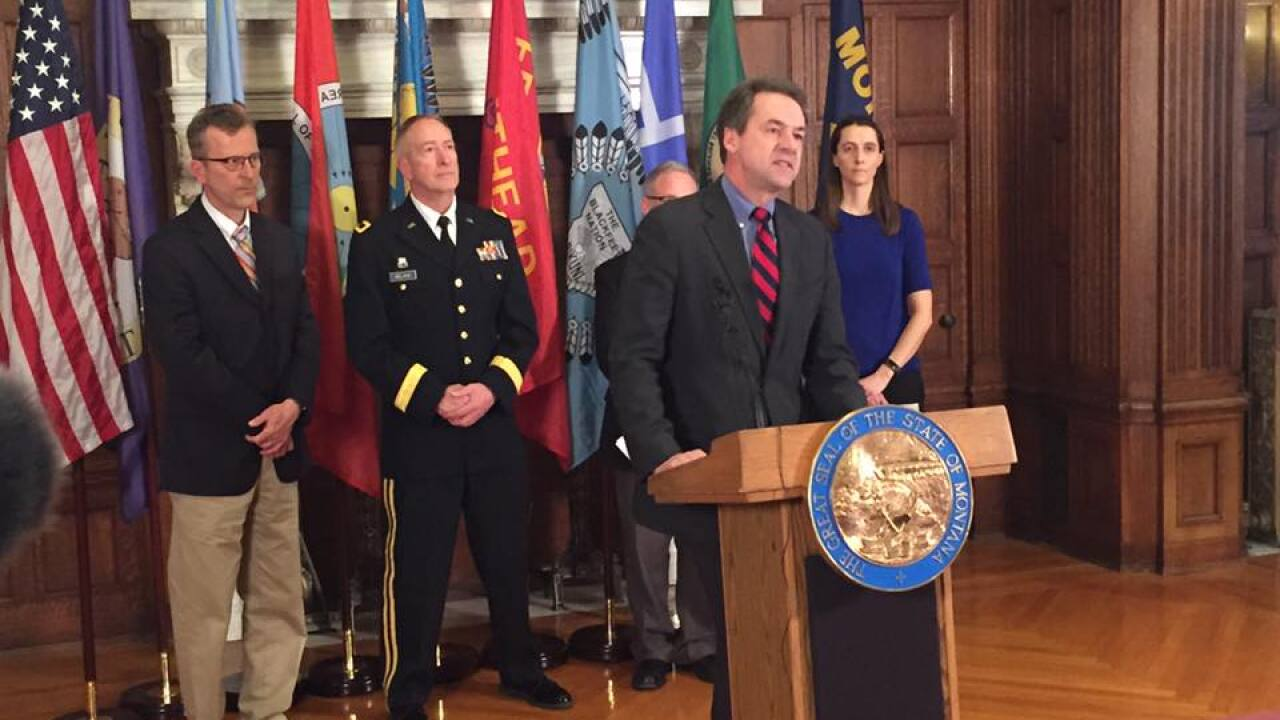 Montana coronavirus task force announcement