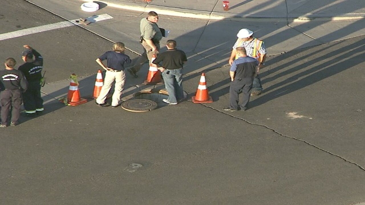 Phoenix PD: Human remains found in sewer line