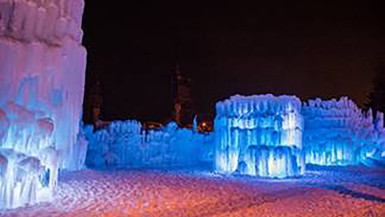 Photos: Crews put final touches on Dillon Ice Castle, set to open Dec. 28