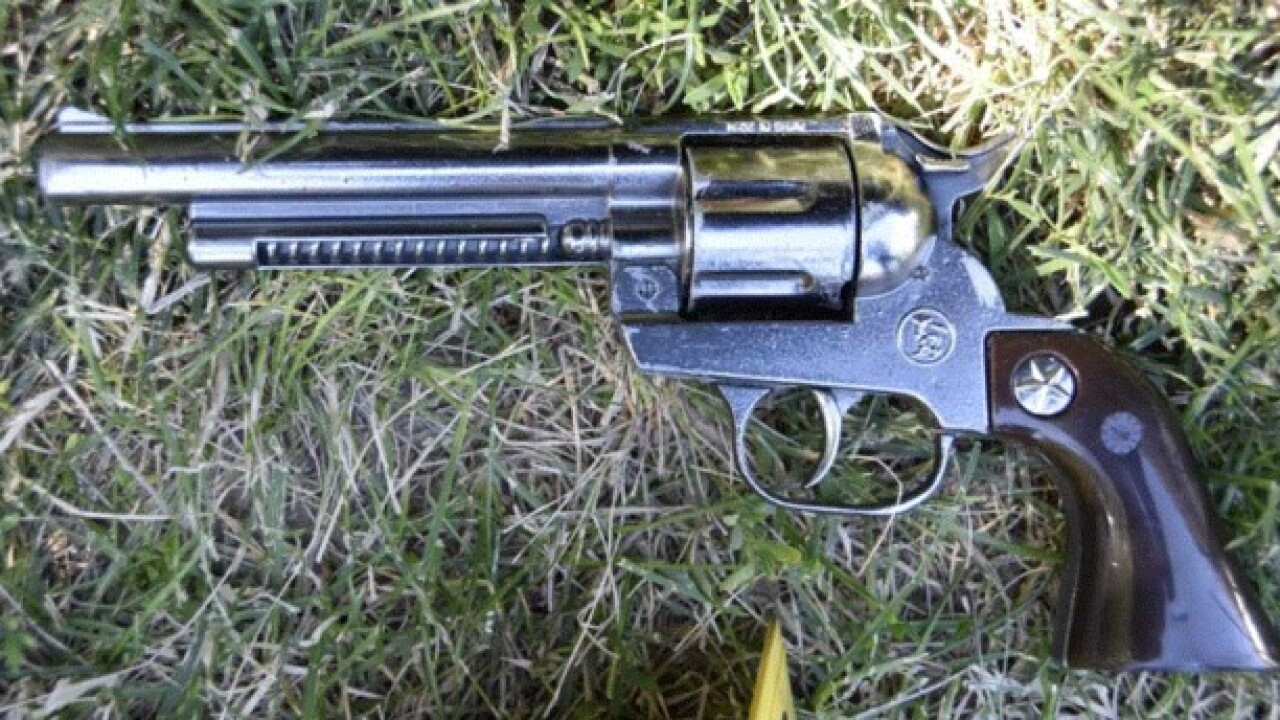 Police: Man shot by officer used a replica gun