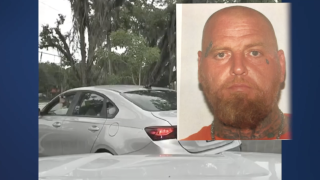 Ronnie Spradlin, suspect who pointed gun at Indian River County deputy