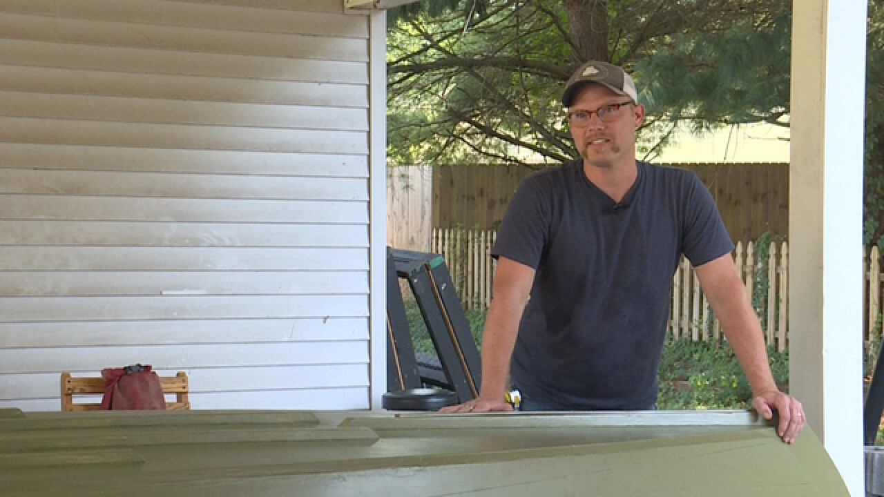 Nashville Man Revisits Mississippi River In Homemade Boat, Bringing Awareness To Mental Health
